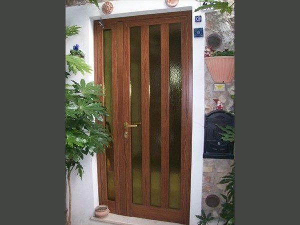 porte in alluminio per esteni